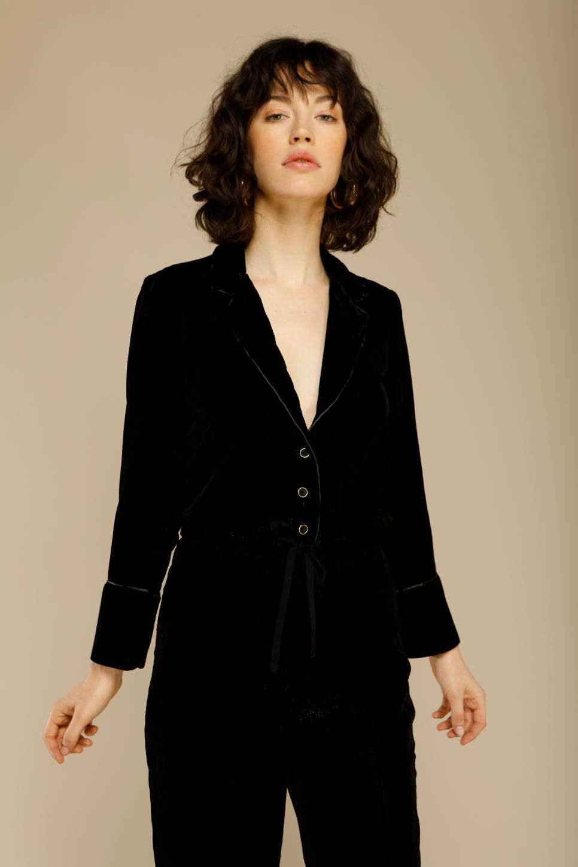 SULLY velvet overall