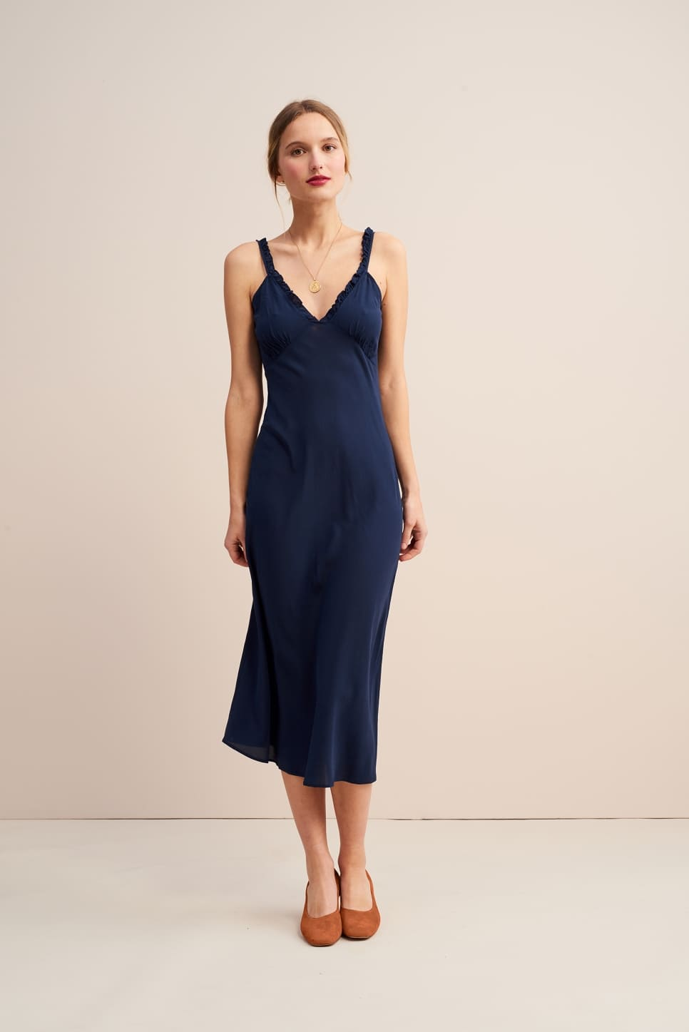 CARLITA slip dress