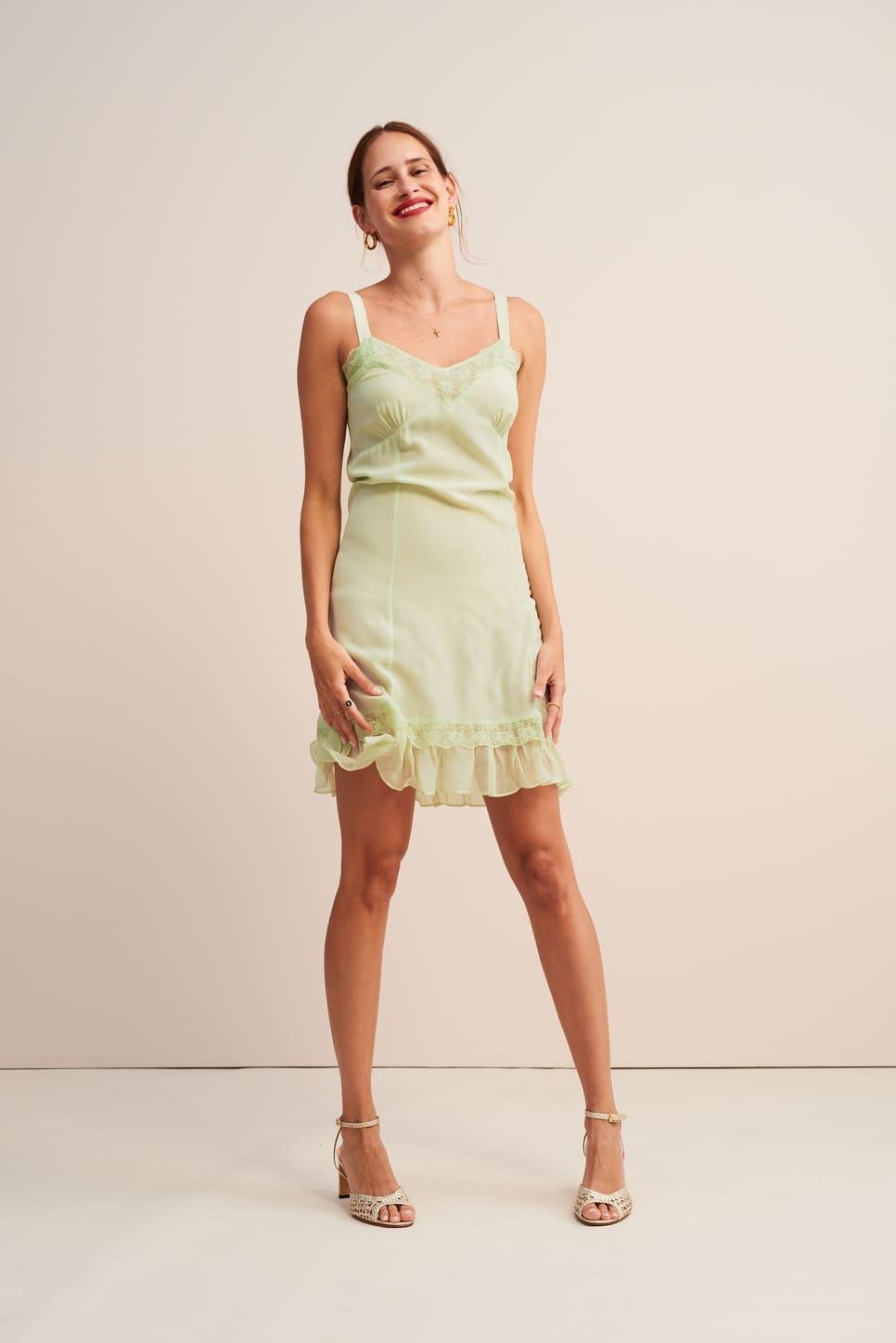 CAROLE slip dress
