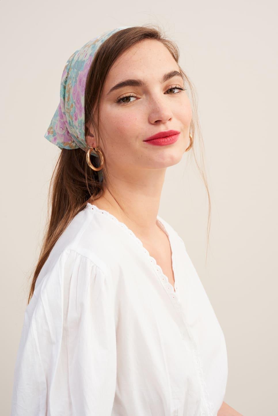 FIFI silk scarf