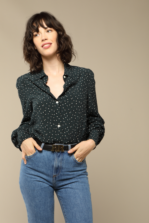 CHLOE shirt with dots print