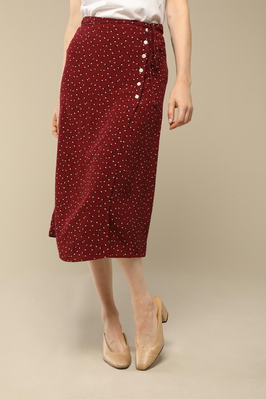 GLORIA skirt with dots print