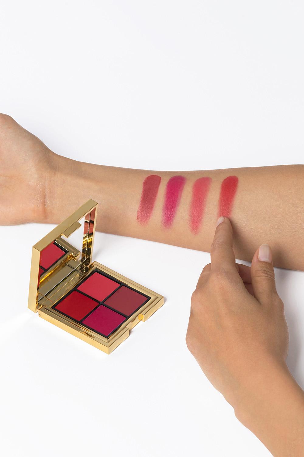 Lip Palette LES 4 ROUJE - Chaleur